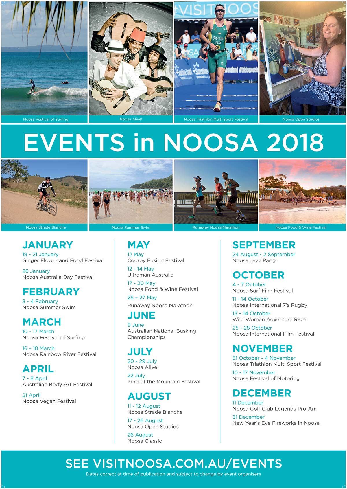 Events Coco Bay Resort Noosa
