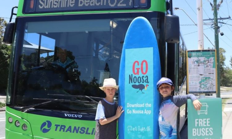 free holiday buses in noosa