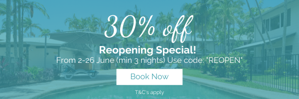 30 percent off reopening special at coco bay resort noosa