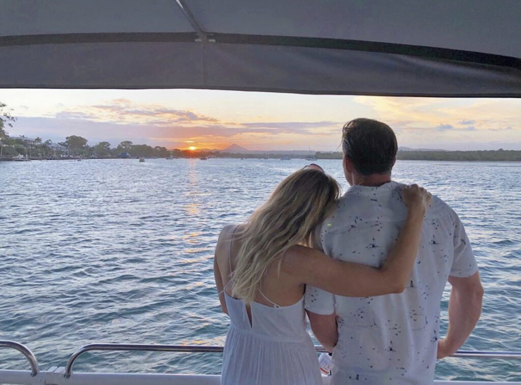 sunset cruise with noosa river and canal cruises